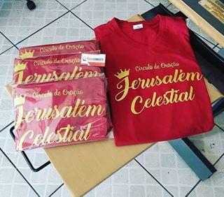 Camiseta Jerusalém Celestial