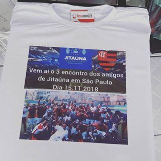 Camiseta com foto Jitauna.