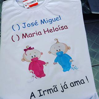 Camiseta Chá Revelação Nossa Camiseta