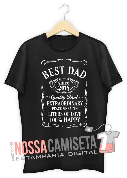 Camiseta dia dos Pais best dad