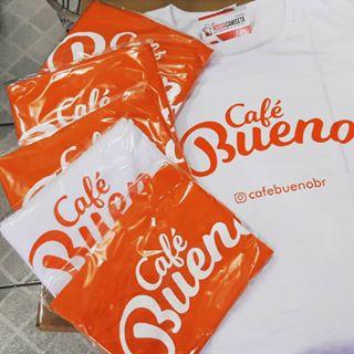 Café BuenoCamisa de Empresa Personalizada