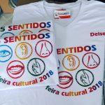 Camiseta 5 Sentidos Feira Cultural
