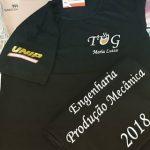 Camiseta engenharia produção mecânica UNIP