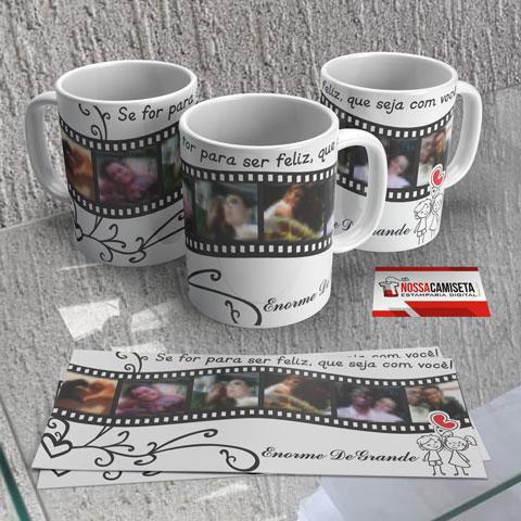Canecas personalizadas com fotos e frases